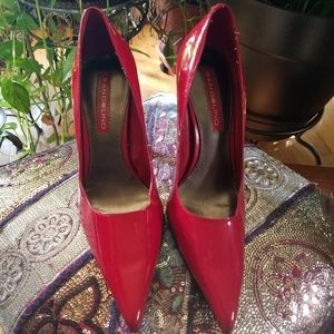 Red Pumps Size 8
